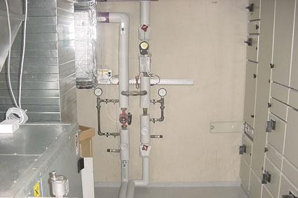 Service på ventilationsanlæg